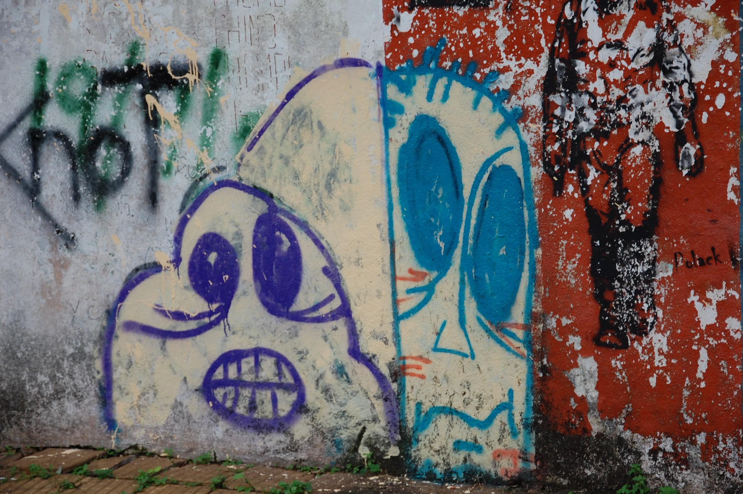 Mural hecho en Posadas Misiones Argentina — Foto de junio 2010
